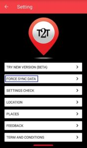 Force Sync Data - track2ticket